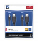 Speedlink stream play&charge cable set (2 x 3m)