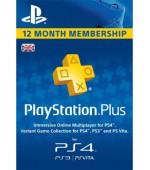PSN PlayStation Plus 12 mēnešu abonēšana (Lielbritānija)