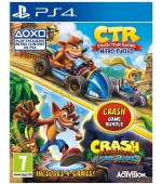 Crash Bandicoot N. Sane Trilogy & Crash Team Racing Nitro-Fueled Double Pack