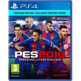 Pro Evolution Soccer 2018 Premium Edition (PES2018)