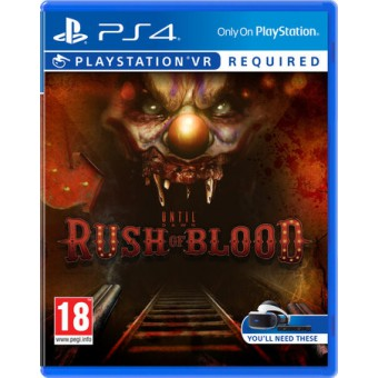 Until Dawn: Rush of Blood (RUS audio)
